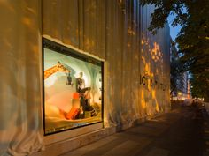 Louis Vuitton, avenue Montaigne, Paris, staged by ATHEM