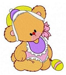 Teddy Bear Babies 6 - 4x4 | What's New | Machine Embroidery Designs | SWAKembroidery.com Fun Stitch