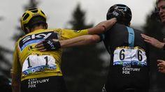 TOUR DE FRANCE 2016 - Le maillot jaune peut remercier son équipe ce vendredi soir. Sans le vélo de Geraint Thomas après sa chute et le gros coup de pouce de Wout Poels pour soutenir son leader dans la montée du Bettex, Christopher Froome aurait pu perdre...