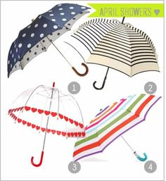 I should get a cute umbrella..just to have a cute umbrella!