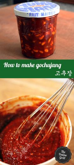 How to make the essential Korean condiment - Gochujang!
