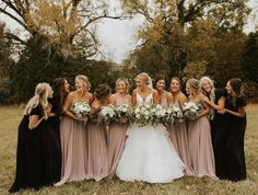 Saturdays are for the girls! Love these Jenny Yoo bridesmaid dresses in Fig- the perfect neutral that works in any season. • • • • • #ReadyorKnotBride #jennyyoobridesmaids #bridesmaids #bridesmaiddresses #bridesmaidlook #bridalparty #omahaboutique #midwestbride #omahawedding #omaha #omahaweddingphotographer #omahabride #rockbrookvillage #downtownomaha #midwestwedding #omahaphotographer #midwestbrides #nebraskabrides #midwestweddings #nebraskabride #omahanebraska Fall Wedding Bridesmaids, Bridesmaid Dresses, Wedding Dresses, Chic Wedding, Seasons, Bridal, Stylish, Fig, Neutral