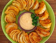 Blooming Onion Wedges 30 minutes to prepare serves 6-8  Print  Save Share Pin INGREDIENTS 1 onion, cut into 8 wedges 1 cup buttermilk 2 cups all-purpose flour