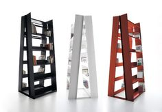 Danese in ten shots: the best of this firm | Gran Livorno bookcase, Marco Ferreri, 2008 | Read more about this on #Designbest #magazine @danesemilano