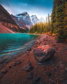 Природа | Пейзажи Banff National Park, National Parks, Many Glacier, Mountainous Terrain, Turquoise Water, Rocky Mountains, Calgary, Travel Guide