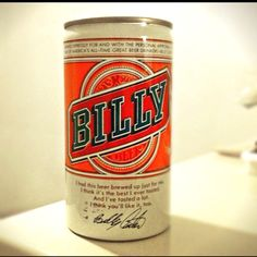 I love old beer cans!