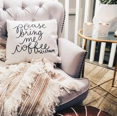 Make quote pillow with any text as you like.