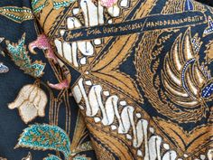 A tribute to Iwan Tirta the BATIK Maestro on Batik day 2012.Iwan Tirta signed his works