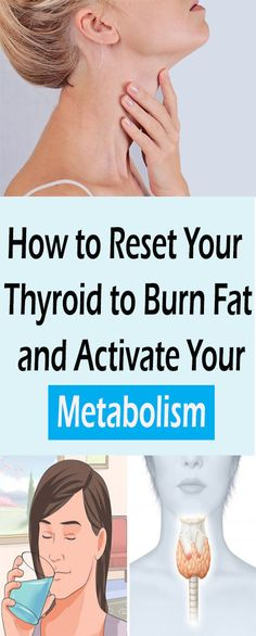 How to Reset Your Thyroid to Burn Fat and Activate Your Metabolism#health #beauty #getrid #howto #exercises #workout #skincare #skintag  #bellyfat #homeremdieds #herbal