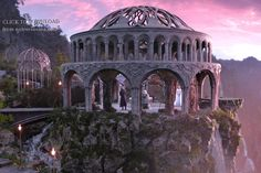 """Rivendell. From """"Hobbit: An Unexpected Journey"""""""
