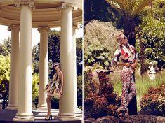 Category: Editorials  Tags: Annabella Barber, dresses, floral, Jaclyn Adams, lace, peplum, Plaza Kvinna, prints, Vass Arvanitis