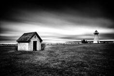 Ned's Point - Black and White Seascape Photography - Fine Art Seascape Photography