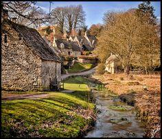 Cotswold Village, England.