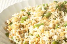 Veg Angel's Long Bean Rice 菜豆炒饭