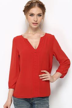 Cassidy Tunic in Persimmon