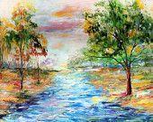 Karen Tarlton Original oil painting Autumn by Karensfineart