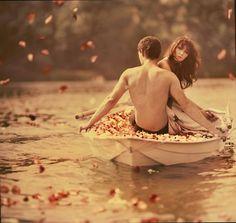 Romantic Autumn Couple