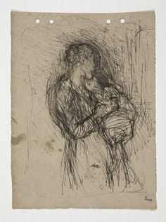 Mother and Child. Artist:Sir George Clausen