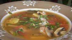 Simple Thai-style Lemongrass Shrimp Soup. Photo by Baby Kato