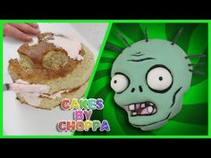 Plants Vs Zombies Cake (How To) Feat: ErnestVideos1 - YouTube