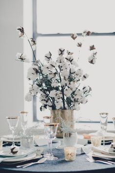 Diy wedding centerpieces 3729612179667107 - Bye-Bye Blooms: 15 Frugal & Fabulous Wedding Centerpieces Without Any Flowers in Sight Branch Centerpieces, Winter Wedding Centerpieces, Wedding Decorations, Centerpiece Ideas, Centerpiece Flowers, Flower Arrangement, Table Decorations, Floral Wedding, Diy Wedding