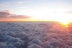 good morning from the bed of clouds