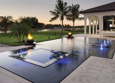 With a couple design guidelines, you can produce your pool the ideal hideaway. A pool can be constructed in virtually any size yard. A huge swimming pool sits at the conclusion of the backyard garden. Pool Pool, Swimming Pool Landscaping, Luxury Swimming Pools, Luxury Pools, Dream Pools, Swimming Pools Backyard, Swimming Pool Designs, Infinity Pool Backyard, Infinity Pools