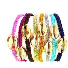 RockaBella Jewels Cowrie Shell Friendship Bracelet