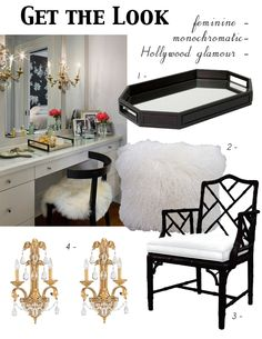 Get the Look - Chic Vanity-1 via @Abbe L L Fenimore