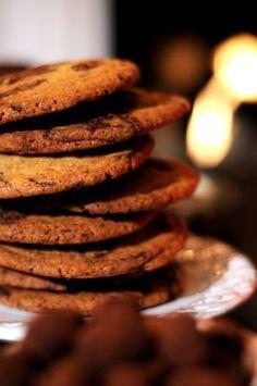 Cinnamon chocolate chip cookies / Julbak ~ Recept | Leila Lindholm (leila.se)