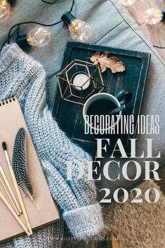 Whether you decorate for the Fall or not, you'll enjoy the new Fall Decor Trends for 2020.Here's some of the best fall decorating ideas and how you can incorporate them into your space today Residential Interior Design, Interior Design Studio, Interior Design Inspiration, Home Decor Inspiration, Design Ideas, Home Trends, Fall Trends, Fall Home Decor, Autumn Home