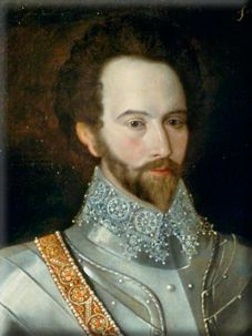 Sir Walter Raleigh, 1552-1603.