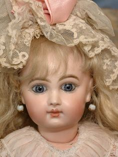 "Beyond Incredible 12.5"" EJ Jumeau Size 4 Antique French Bebe Doll"