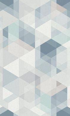 Blue Transparent Illusion Wallpaper R6720 - Base