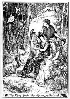 H.J. Ford  Andrew Lang, The Yellow Fairy Book