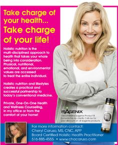 Take charge of your life!  www.chacaruso.com