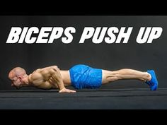 fitness - How to Train Your Biceps with Push Ups Fitness Workouts, Planet Fitness Workout, Muscle Fitness, Mens Fitness, Calisthenics Workout, Aerobics Workout, Biceps Workout, Bodybuilder, Workout Videos