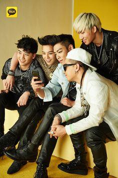 BigBang for Kakaotalk 2013 <3  They look so adorable....
