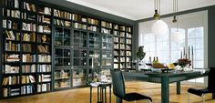 wine and book storage in the same room? I'll take it.