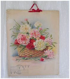 Vintage Floral Painting canvas