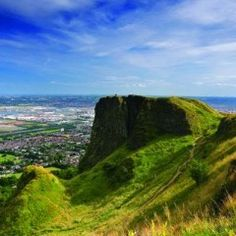 Cave Hill, Belfast - One of the coolest hikes I've ever done.