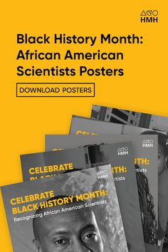 For Black History Month, honor those black scientists who left enormous legacies and changed the course of history through innovation. African American Scientists, Famous African Americans, African American Studies, Elementary Science, Science Classroom, Science Resources, Learning Resources, Classroom Posters, Classroom Ideas