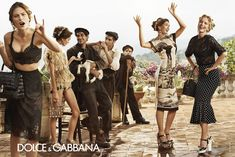 """DOLCE & CABBANA SUMMER WOMAN2014 """"VISIONS AMONGST TEMPLES IN ANCIENT SICILY"""""""