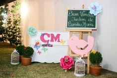 Entrada da festa - Festa Jardim - Garden Party - Garde Decor Sueli Coelho Decoradora de Ambientes e Eventos