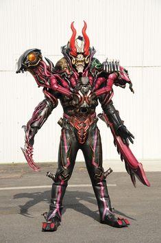 Monster Design, Kamen Rider, Power Rangers, Character Costumes, Japan, Superhero, Fictional Characters, Interesting Faces, Fantasy Creatures