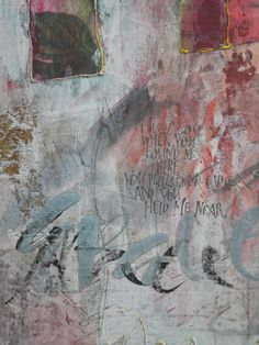 'Grace' Calligraphy done by Cecile Walters.  Mixed Media on wood.  See more at www.letterdance.co.za