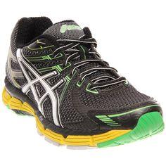 Asics GT-2000 Running Shoe - Men's Black/White/Yellow, 10.5 $114.99 #coupay #mens #fashion