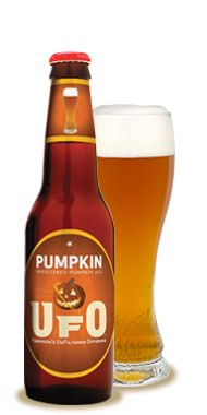 Harpoon Brewery Pumpkin UFO (Harpoon is based in Boston and VT)