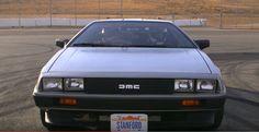 Stanford'dan sürücüsüz ve elektrikli DeLorean: MARTY #BackToTheFuture #DeLorean #MartyMcFly Marty Mcfly
