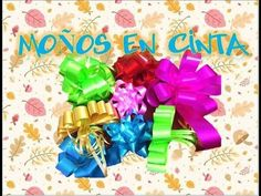 4 MOÑOS EN CINTA PAPEL SUPER FÁCILES DE REALIZAR - YouTube Magic Box, Gift Baskets, Ideas Para, Diy And Crafts, Projects To Try, Lily, Bows, Frozen, Candy